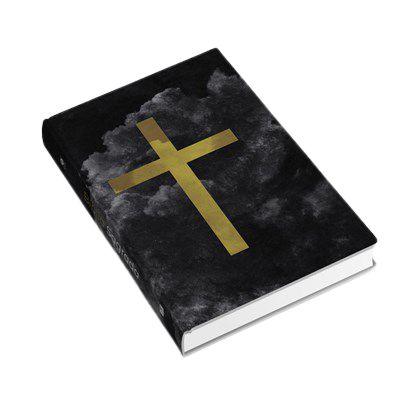 Bíblia Cruz Cores   ACF   Letra Normal   Capa Dura