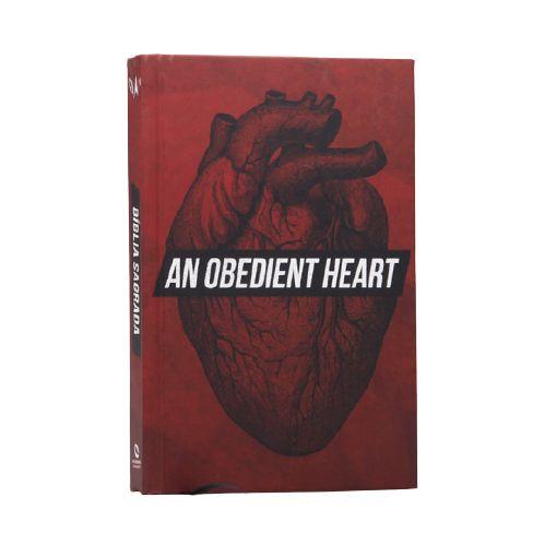 Bíblia Sagrada   NAA   Letra Normal   Capa Dura   Coração Obediente