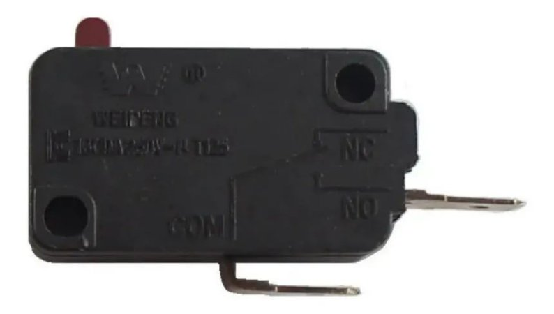 Chave Micro Switch Para Forno Microondas 16a 250vac 2 Term
