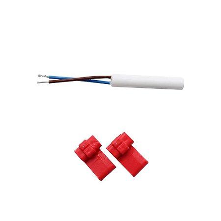 Sensor Brastemp 10k W10696879 Brm38 Brm39 Brm44 Crm32 Crm33
