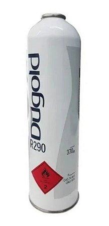Fluído Gás Refrigerante Dugold Propano R290 370g Refrigeração