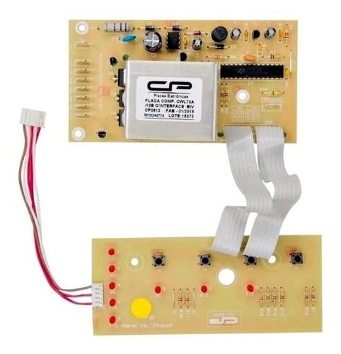 Placa Eletrônica Potencia Interface Consul Maré Super 10 Kg