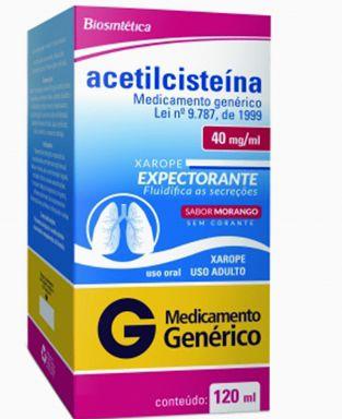 ACETILCISTEINA 40MG XAROPE 120ML - ACHE