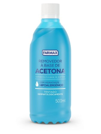 ACETONA 500ML - FARMAX