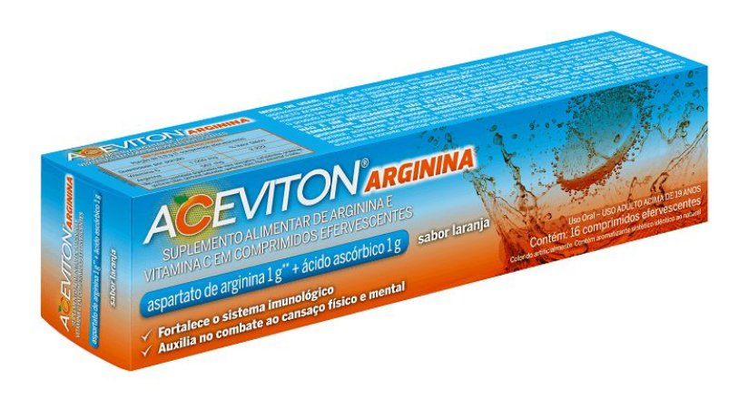 ACEVITON ARGININA LAR COMP EFERV TUBX16