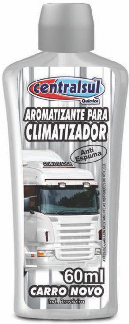 Aromatizante para Climatizador Carro novo 60ml
