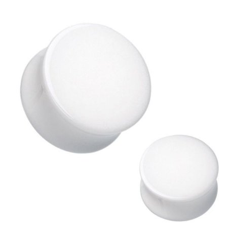 Plug Acrílico Branco