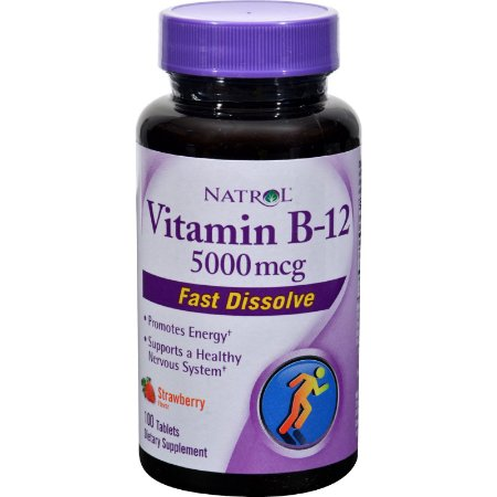 Vitamina B 12 5000 mcg  100 Tabs