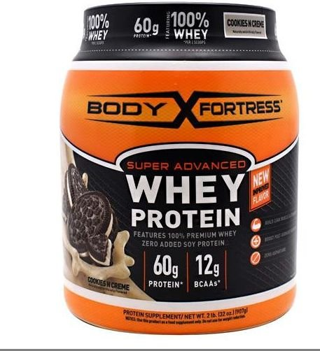 BODY FORTRESS SUPER ADVANCED WHEY PROTEIN CHOCOLATE PEANUT BUTTER