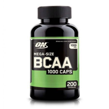 Optimum Nutrition Bcaa 1000, 200 cpas