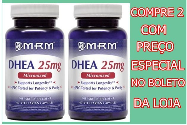 2  -Mrm Micronized Dhea 25mg 90 caps CADA