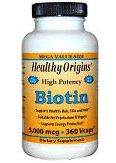 HEALTHY ORIGINAL BIOTINA - 5000 MCG - 360 CÁPSULAS