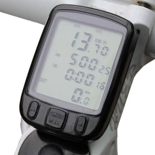 Ciclo Computador Velocímetro Sd-563a 23Funções
