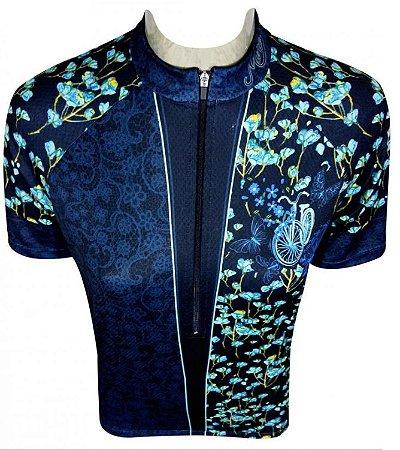 Camisa De Ciclismo Muhu - Flores Que Voam