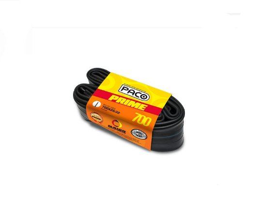 Câmara De Ar 700x28/32 Válvula Presta Bico Fino Paco Prime