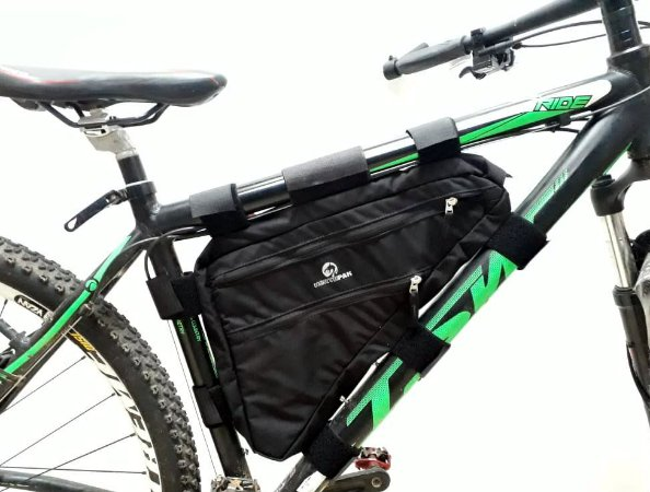 Bolsa De Quadro Triangular Grande Northpak Bikepacking Randonneurs
