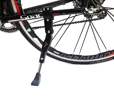 Descanso Lateral Pezinho Para Bicicleta Com Regulagem