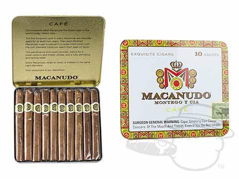 Macanudo Cafe Ascot Cigarillos