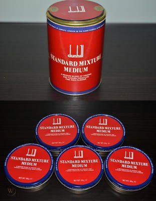 Pacote Dunhill Standard Mixture Anos 90