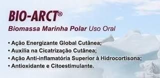 Bio-Arct® 80mg, Centella Asiática 150mg, Cavalinha 150mg, Alcachofra 150mg, Asiaticoside 60mg