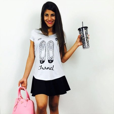 T- Shirt Mescla - Sapatilha Coco
