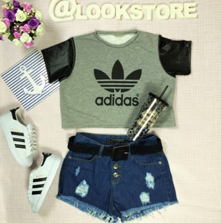 Cropped - Adidas Inspired