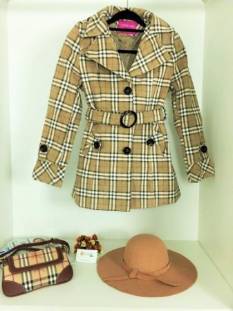 Trench Coat Burberry - Inspired