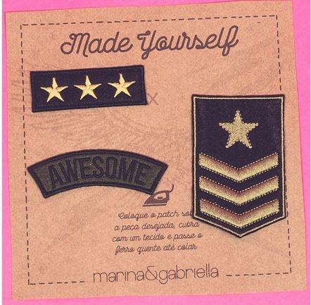 Cartela de Patch Militar