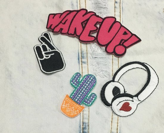 Cartela de Patch Wake UP!