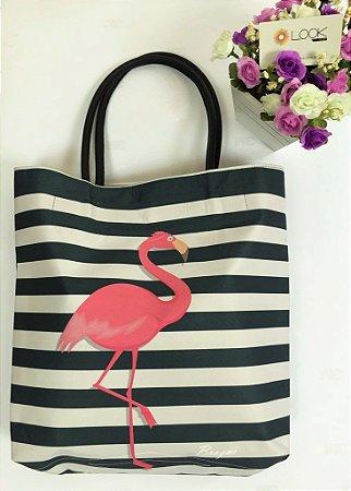 Bolsa Silk Cash Flamingo
