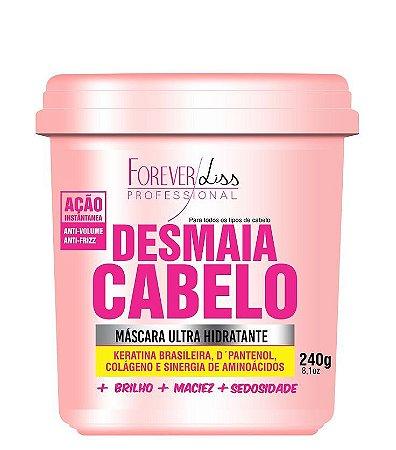 Forever Liss Máscara Desmaia Cabelo Anti Volume e Frizz 240g + 110g Grátis