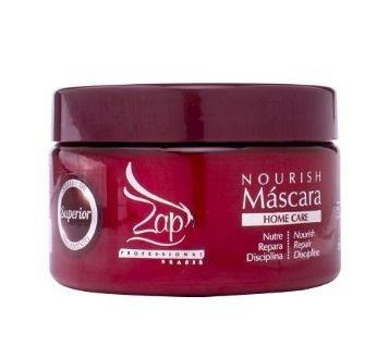 Máscara Profissional Hidratante Capilar Zap Home Care Nourish Máscara 250ml