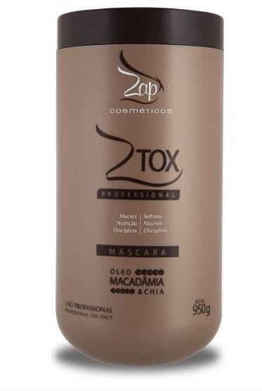 Zap Ztox ZAP Btx Macadamia Alisa e Reduz Volume - 950g