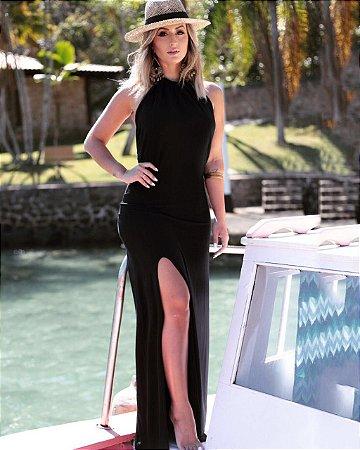 Vestido Longo Frente Única - Lorena