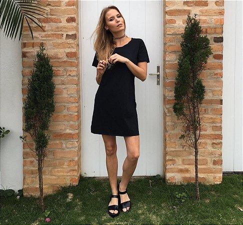 Vestido Camisetão Casual -  Anna