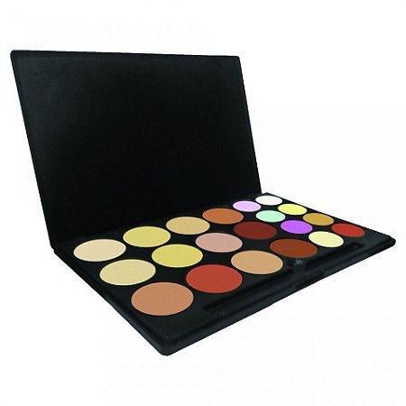 Paleta de Corretivos com 20 cores Bella Femme
