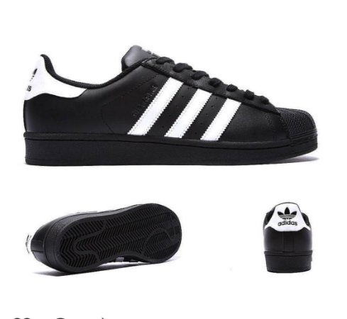 c68ad116a49 Tênis Adidas Superstar P P - Inspired - Look Store