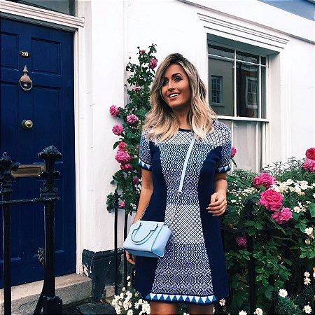 Vestido Princess Azul  Marinho