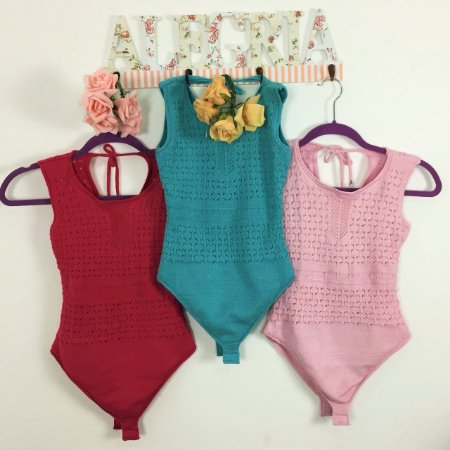 Body Tricot Color Candy P&V 17