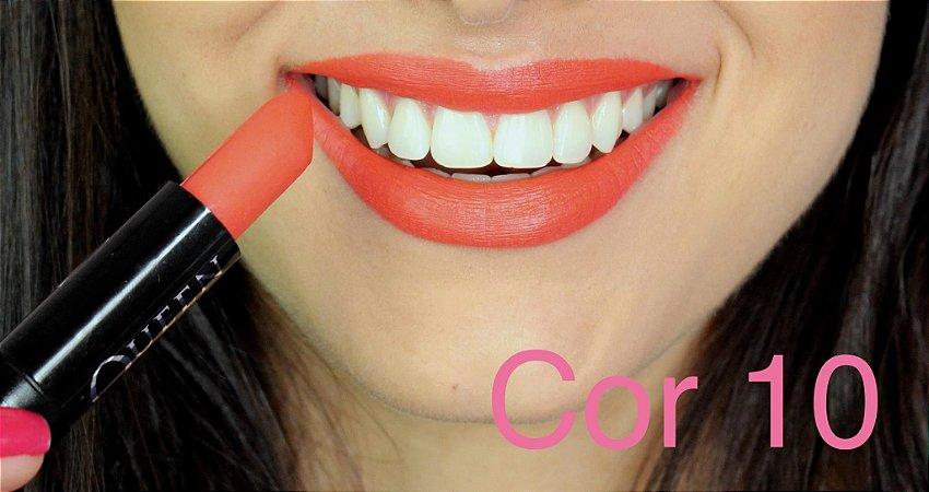 Batom Queen Makeup Matte - Cor 10