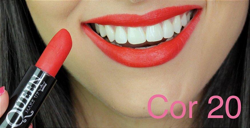 Batom Queen Makeup Matte - Cor 20