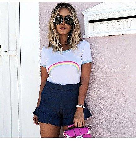 T-Shirt Arco Íris P&V 17