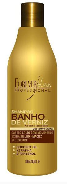 Forever Liss Shampoo Banho de Verniz Brilho - 500ml