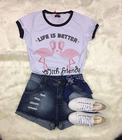 Tee Shirt Life Is Better
