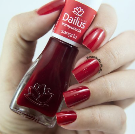 Esmaltes Transparentes 304 - Sangria - Dailus