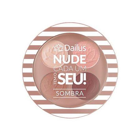 Quarteto de Sombras Dailus 02 - Chic Nude