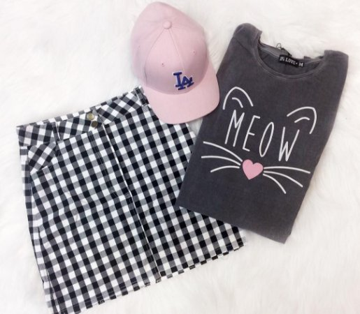 T-shirt Estonada Meow
