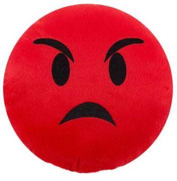Almofada Emoji  Raiva