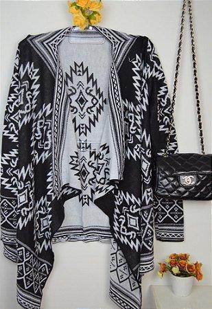 Kimono Étnico P/B