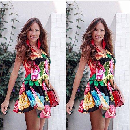Vestido Estampa Summer Color